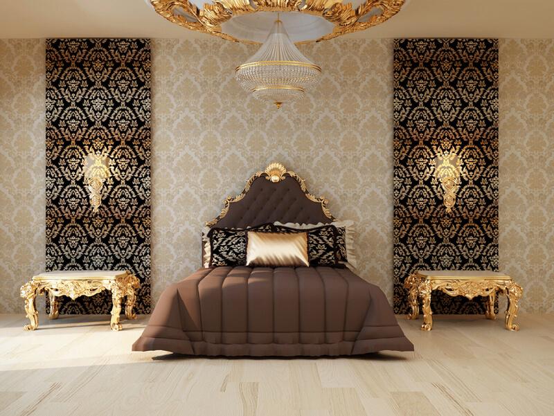 Драпировочная ткань в дизайне интерьера спальни