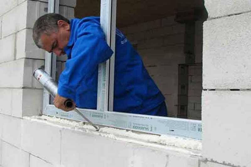 Утепление откосов пластиковых окон снаружи