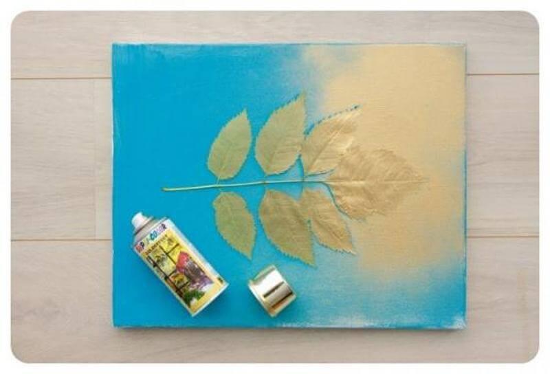 Покраска картины аэрозольной краской