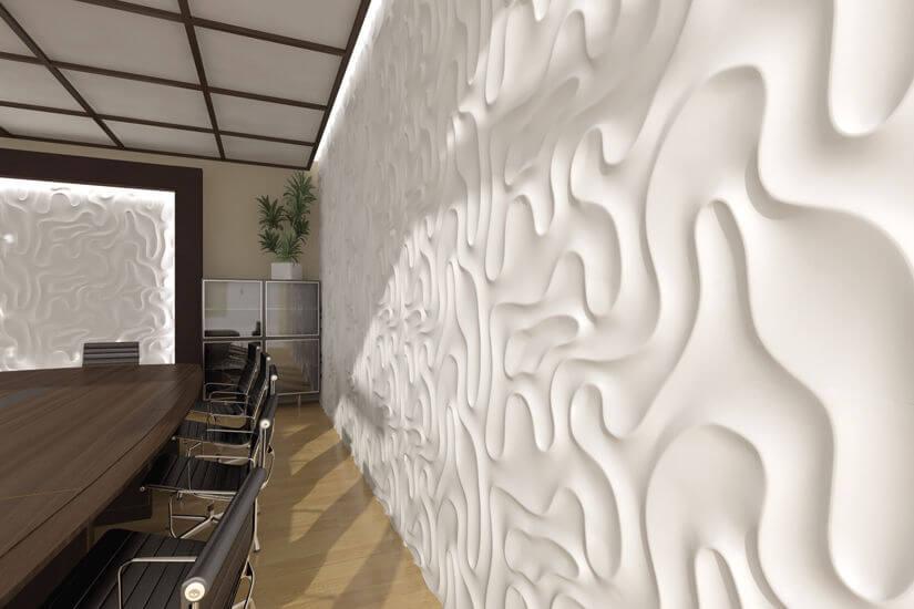 Гипсовые стеновые панели
