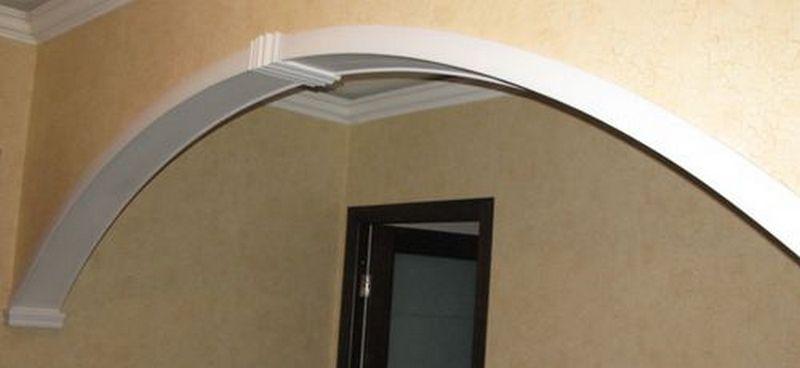Дверная арка из пластика