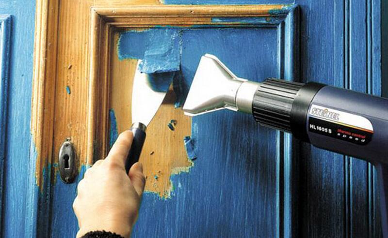 Подготовка дверей к покраске