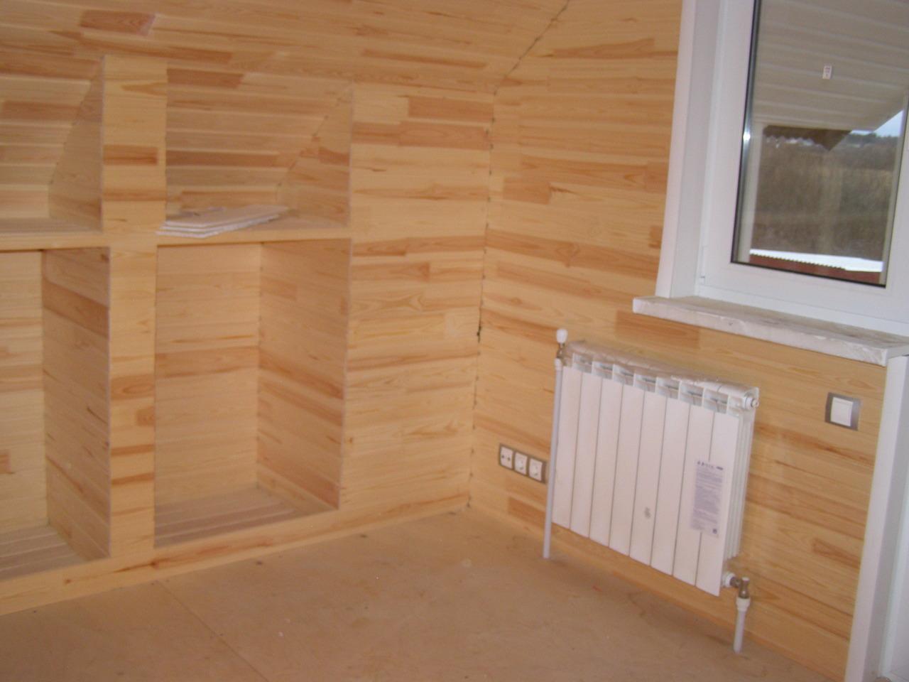Внутренняя отделка стен вагонкой