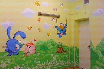 Рисунки для детской комнаты на стену