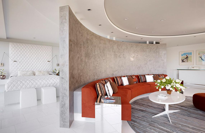 Декоративная штукатурка стен в квартире