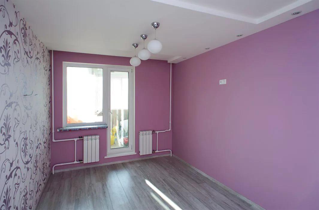 Водоэмульсионная краска в интерьере квартиры