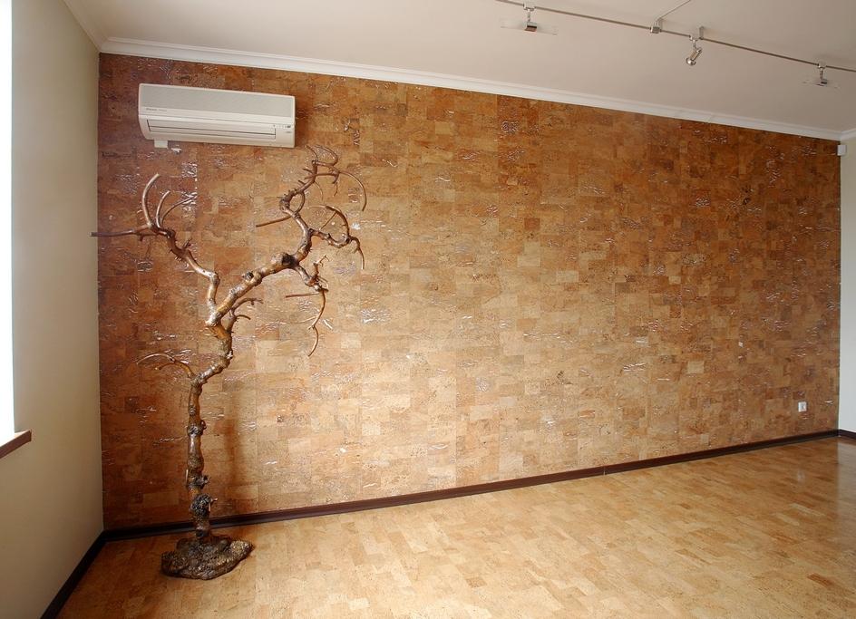 Достоинства пробковых стеновых панелей