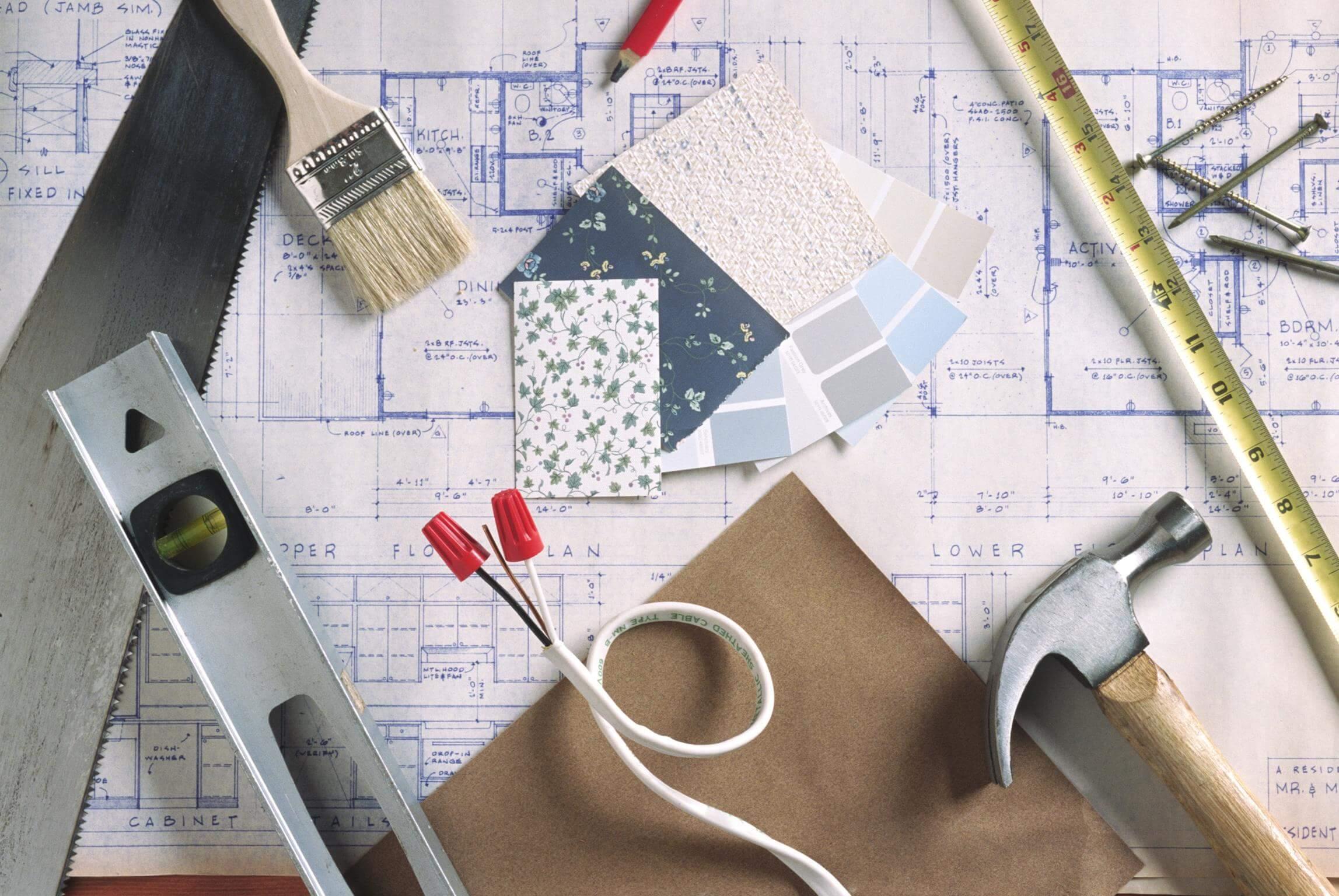 Подсчет расходов при ремонте квартиры