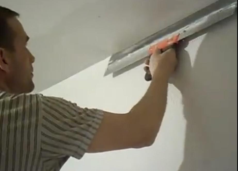 Как шпаклевать стены под обои