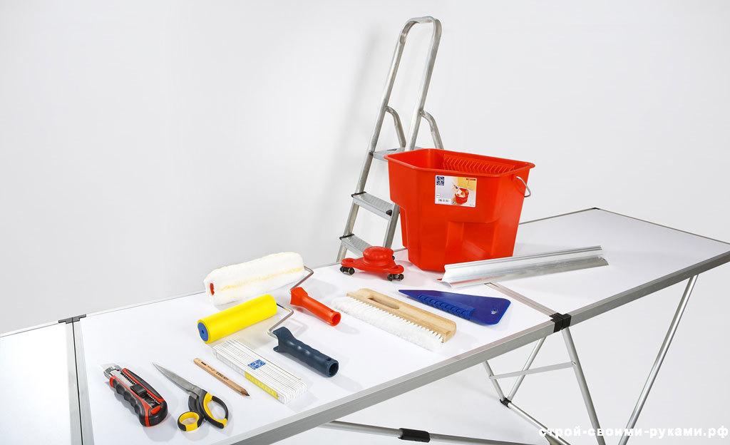 Инструмент для грунтовки стен
