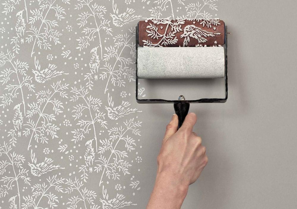Как декоративной покрасить стены самостоятельно