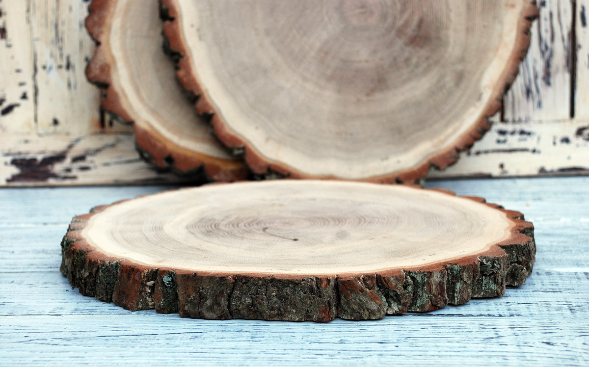 Деревянный спил