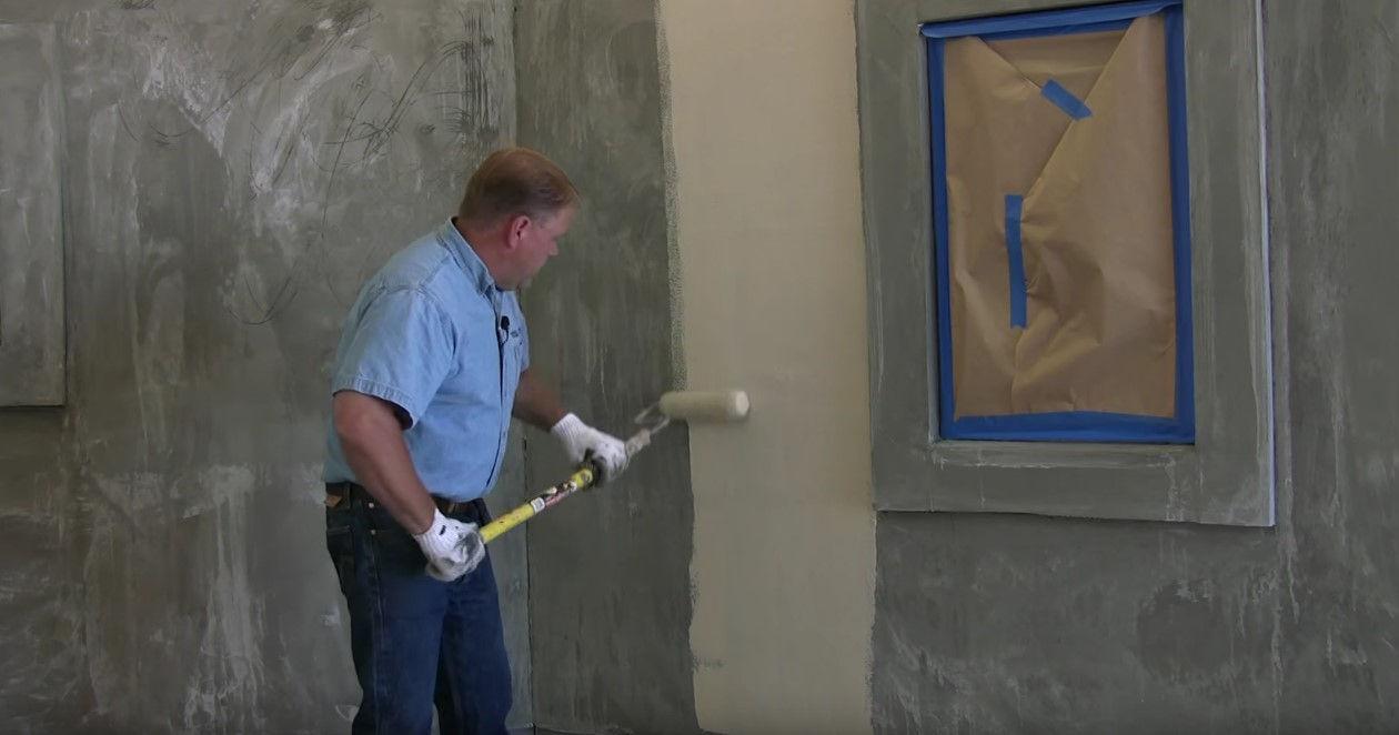 Грунтовка стен перед штукатуркой своими руками