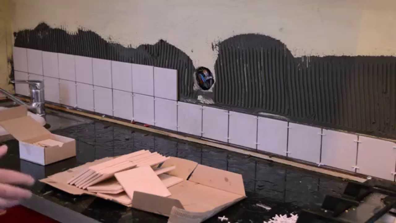 Плитка на шпаклеванную стену