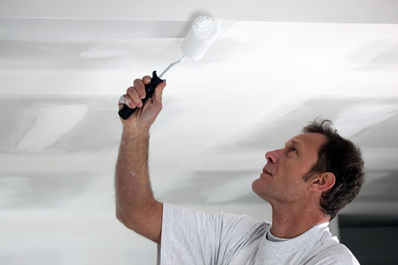 Грунтовка потолка своими руками