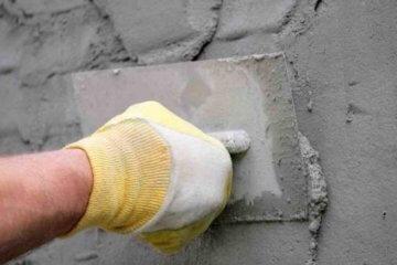 Как нанести цементно-песчаную штукатурку