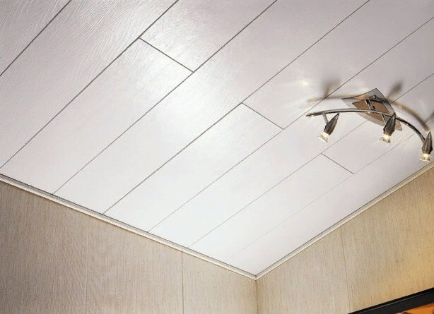 МДФ-панели на потолке